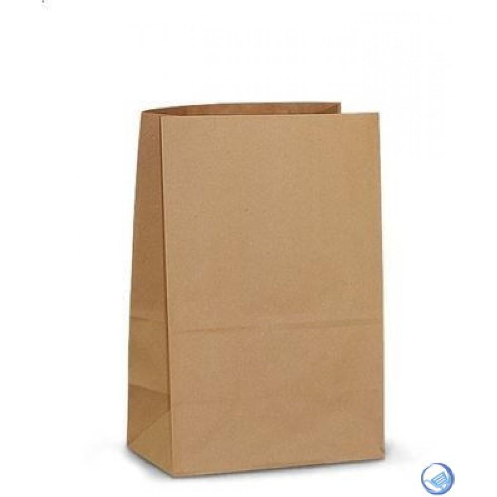 Пакет бумажный 180*120*290 (25шт) белый