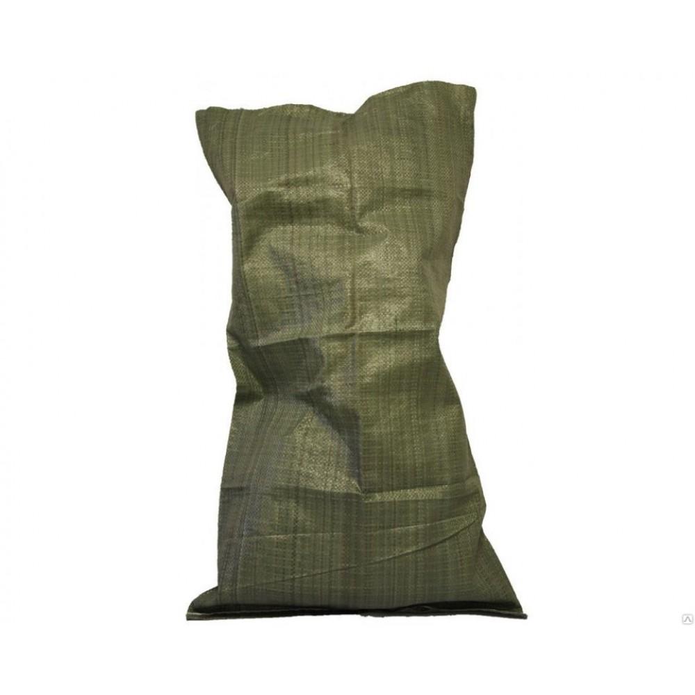 Мешок полипропиленовый 55*95 лам. зеленый (10шт)