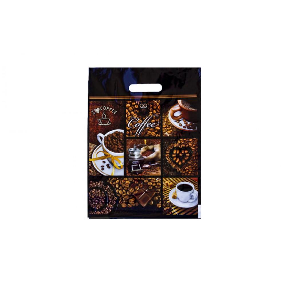 Пакет ламинир. 31*40/60мкм Кофе