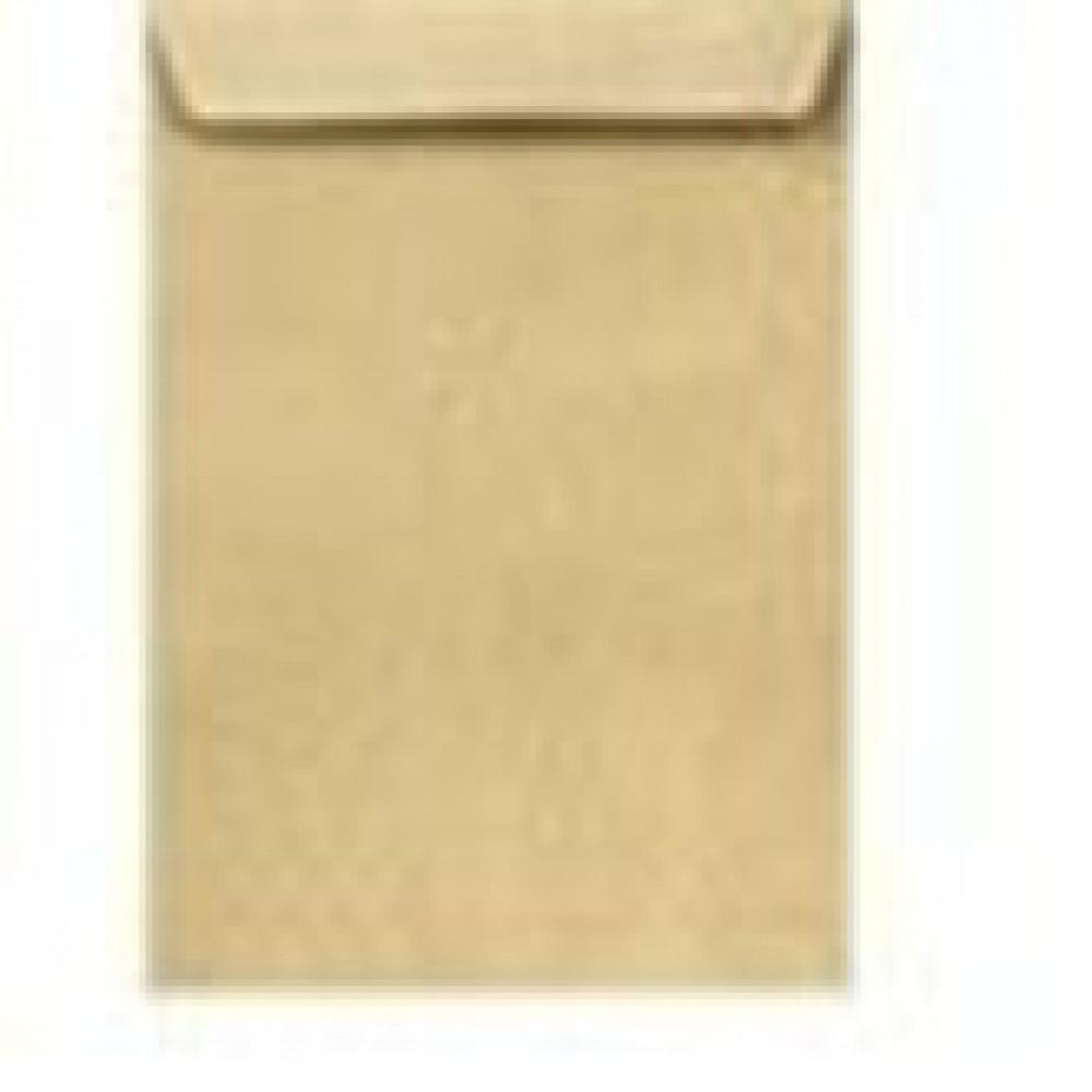 Конверт почтовый крафт, силиконовая лента, 90 г/м