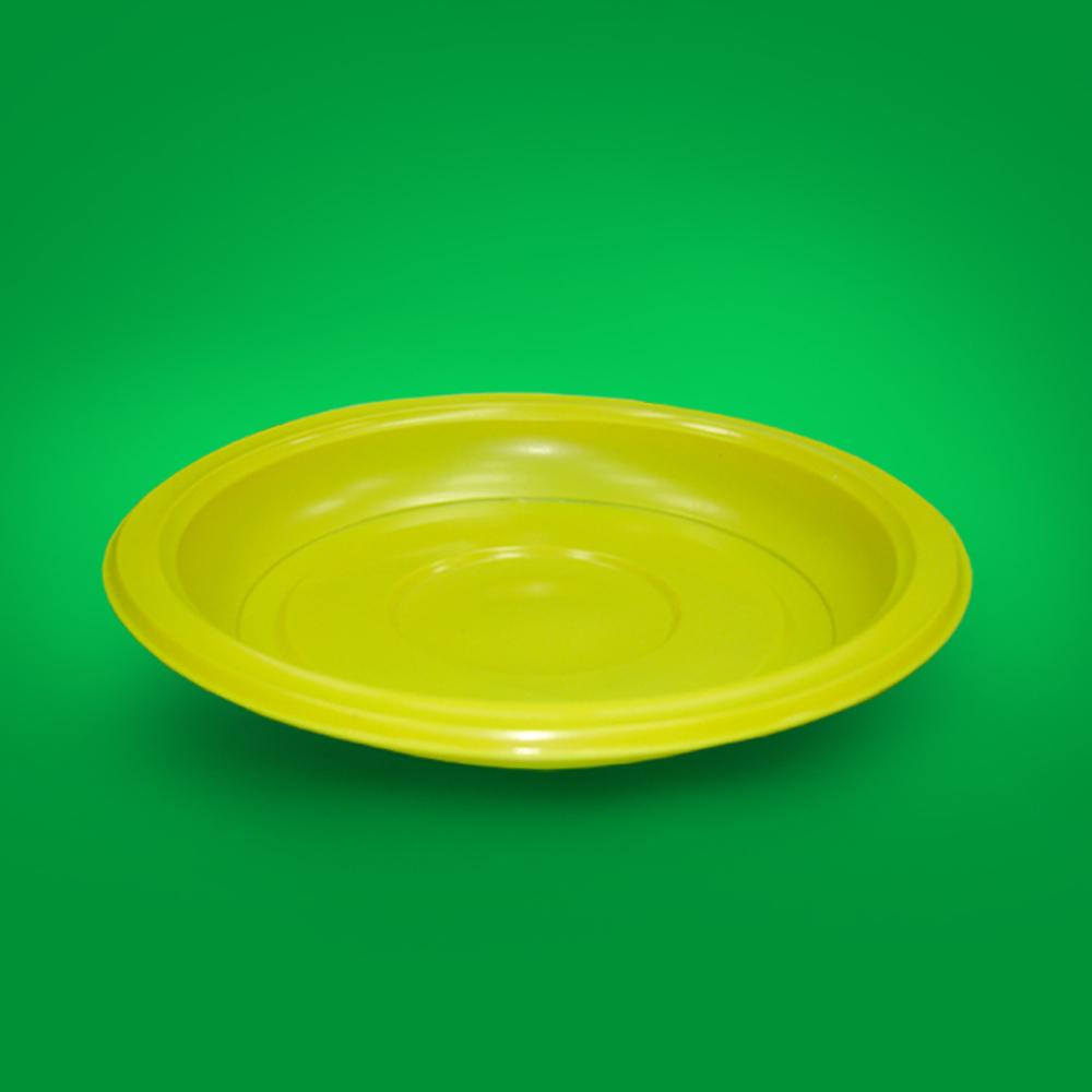Тарелка десертная d-200мм (желтая)