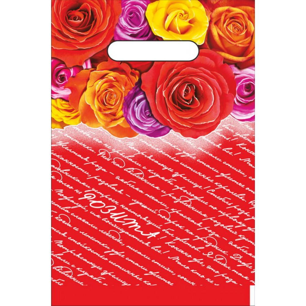 Пакет ПВД с проруб.руч. 20*30/30 Розита