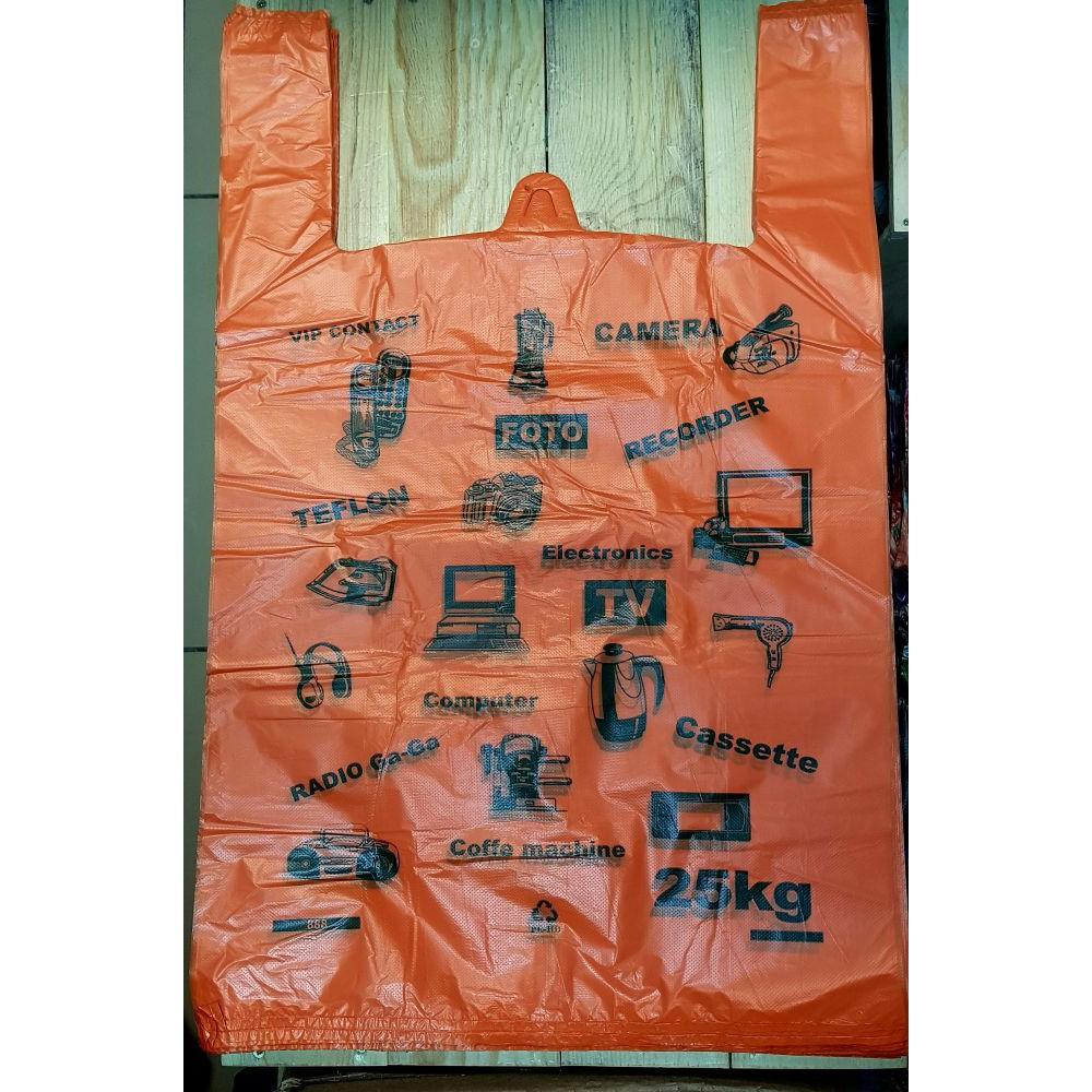 Пакет майка Электрон оранж 40*64 (50шт)