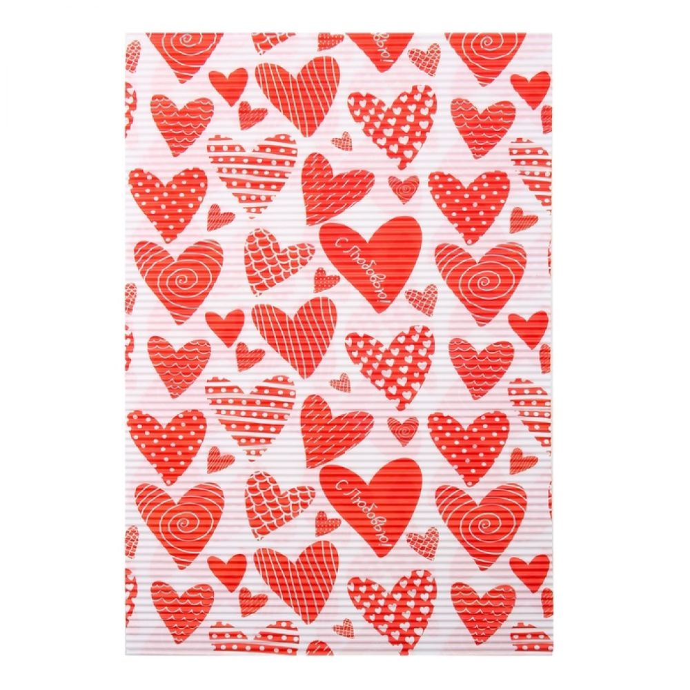 Бумага гофрированная для творчества С любовью