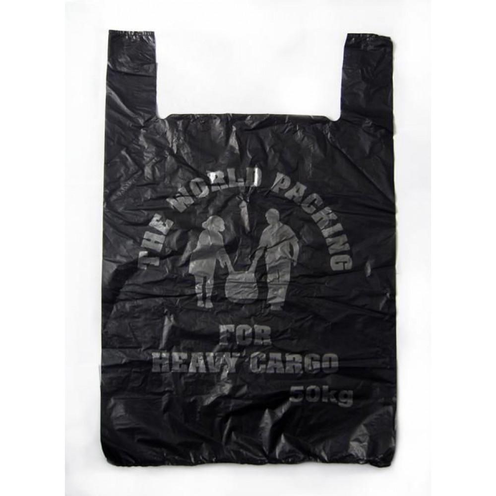 Пакет ПНД Карго черный (50шт)