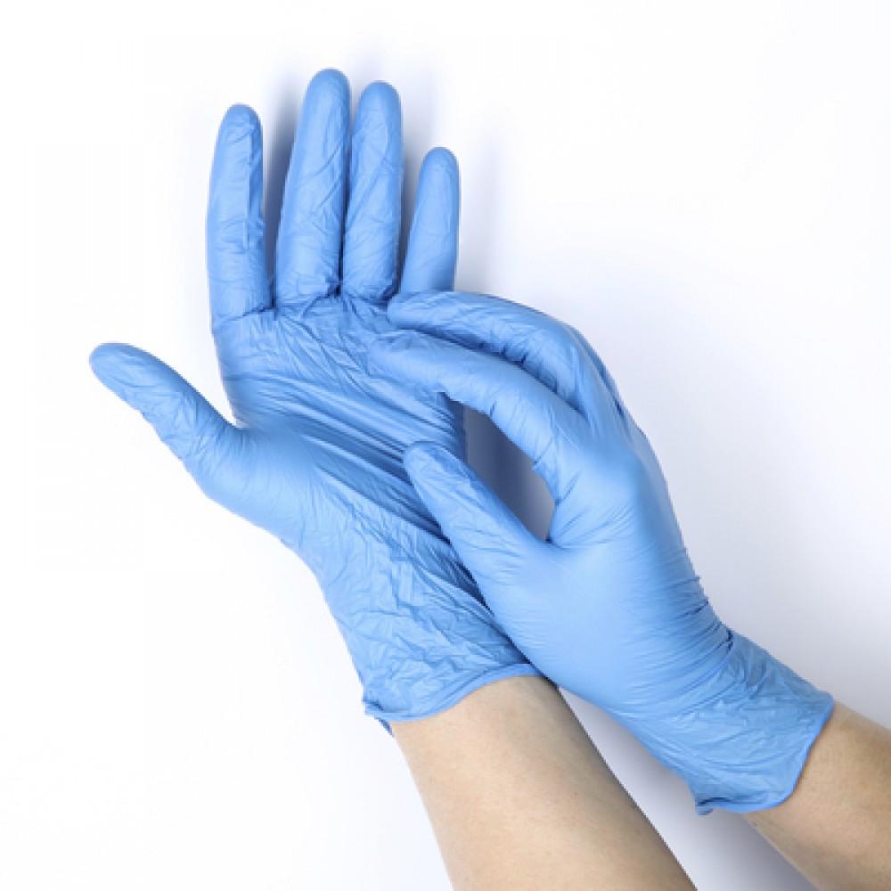 Перчатки  нитриловые неопудренные М, L (1 пара)