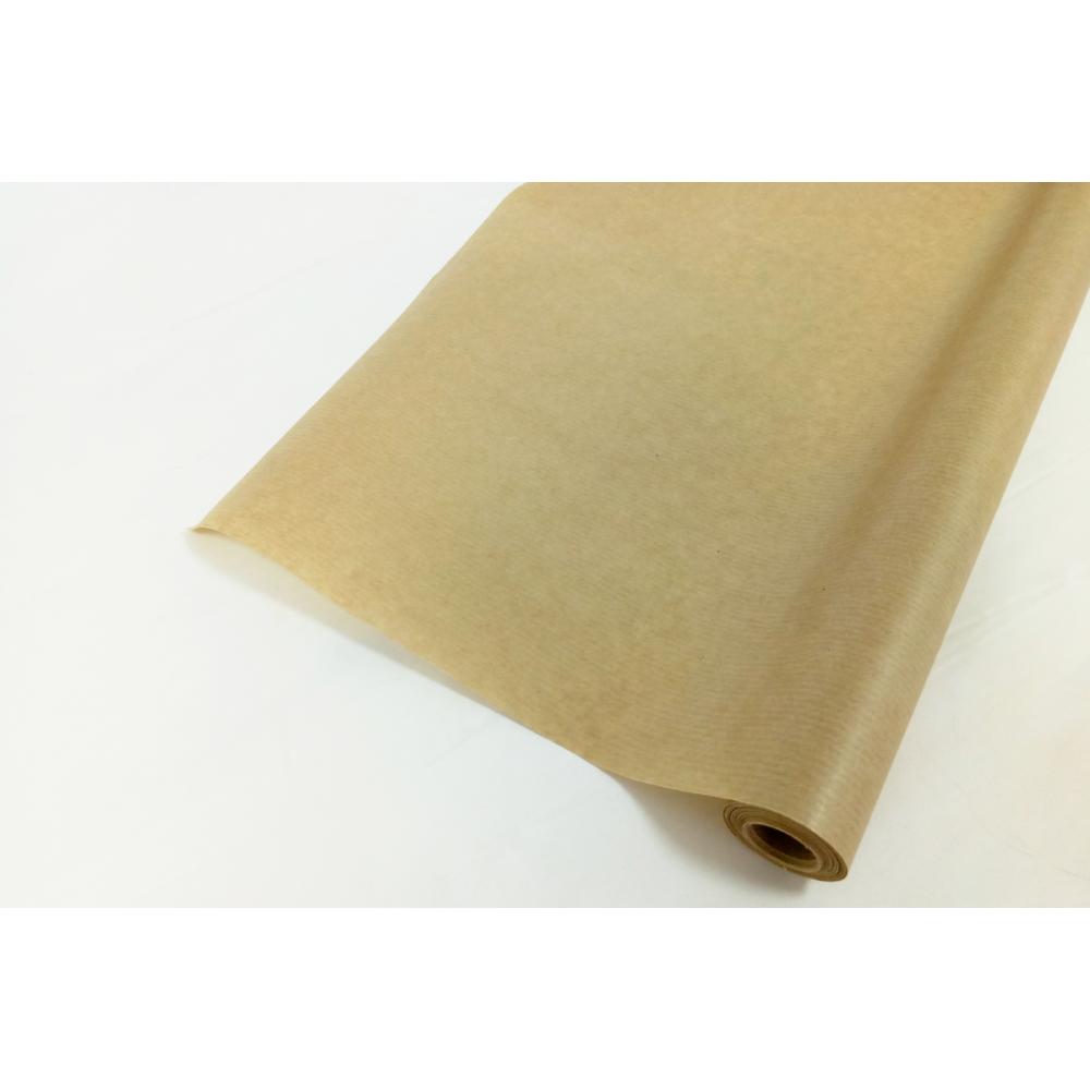 Бумага упаковочная однотонная крафт