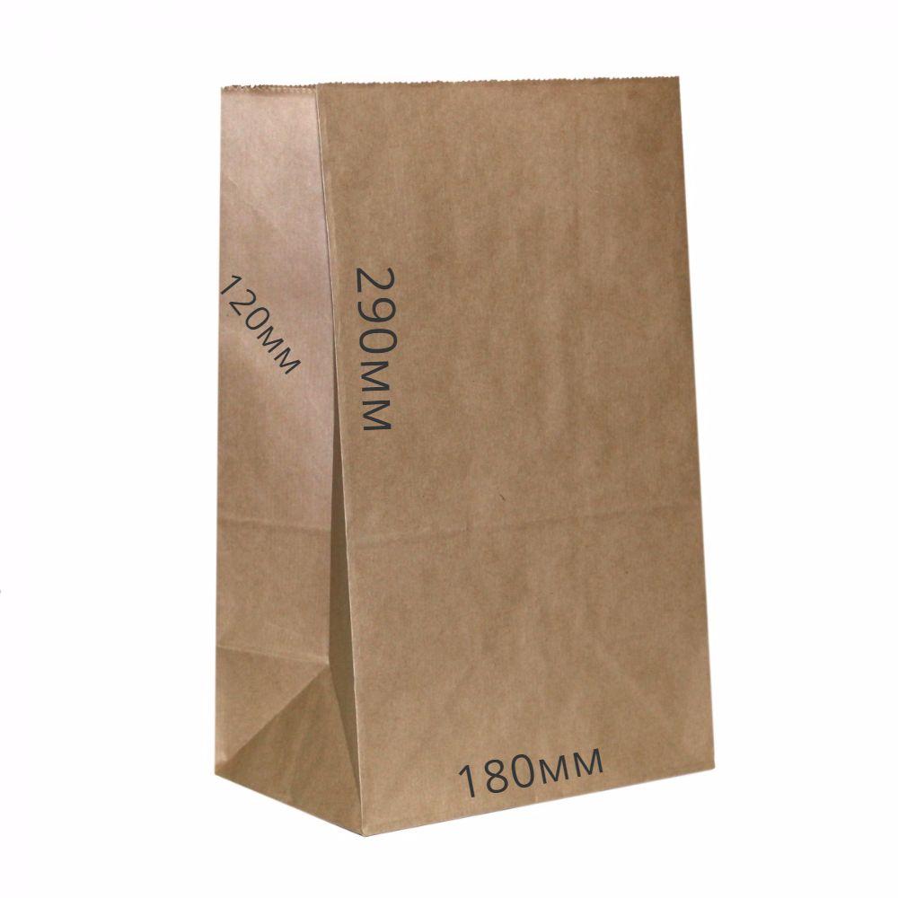 Пакет бумажный 290*180*120 (25шт)