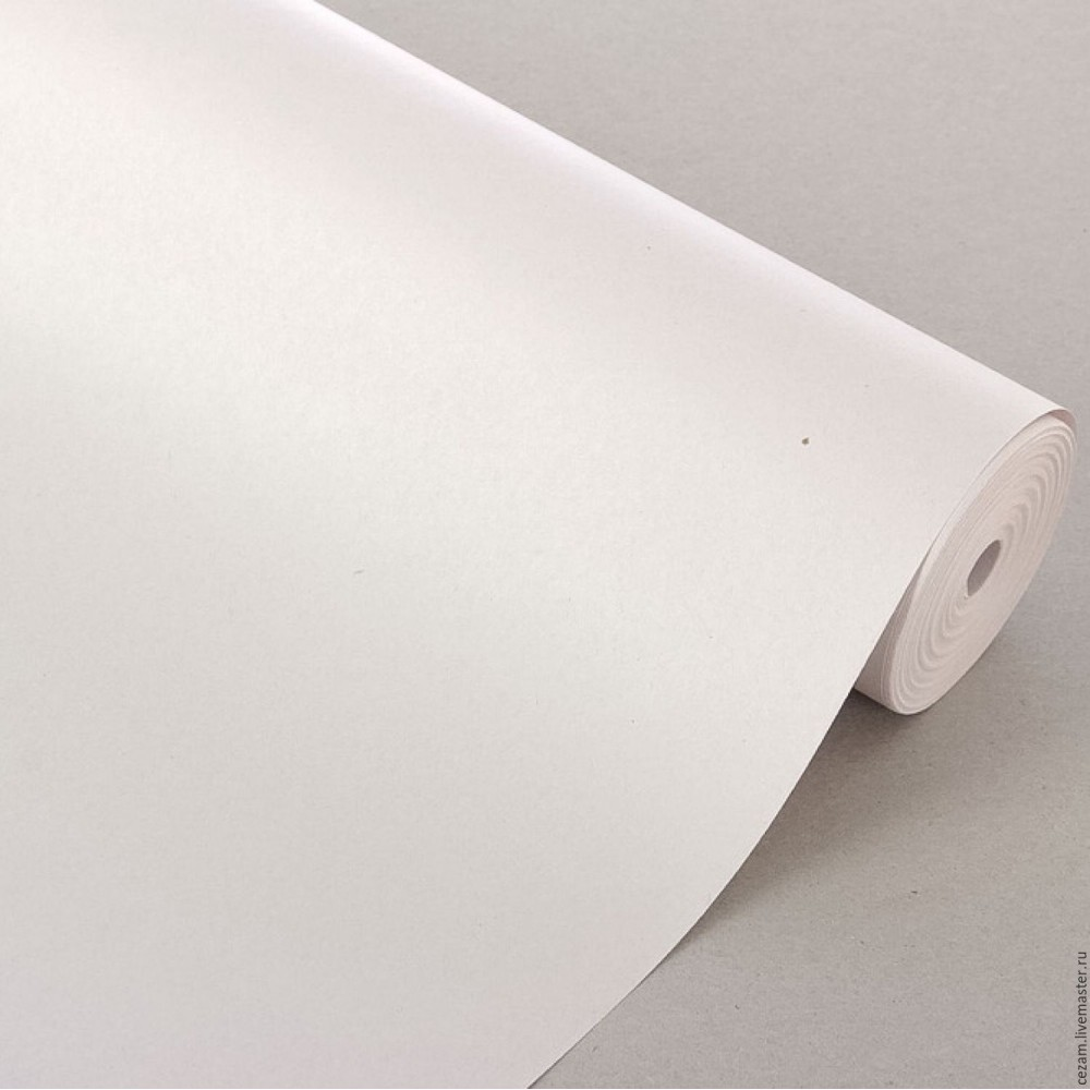 Бумага газетная 0,84*50м, 45гр/м