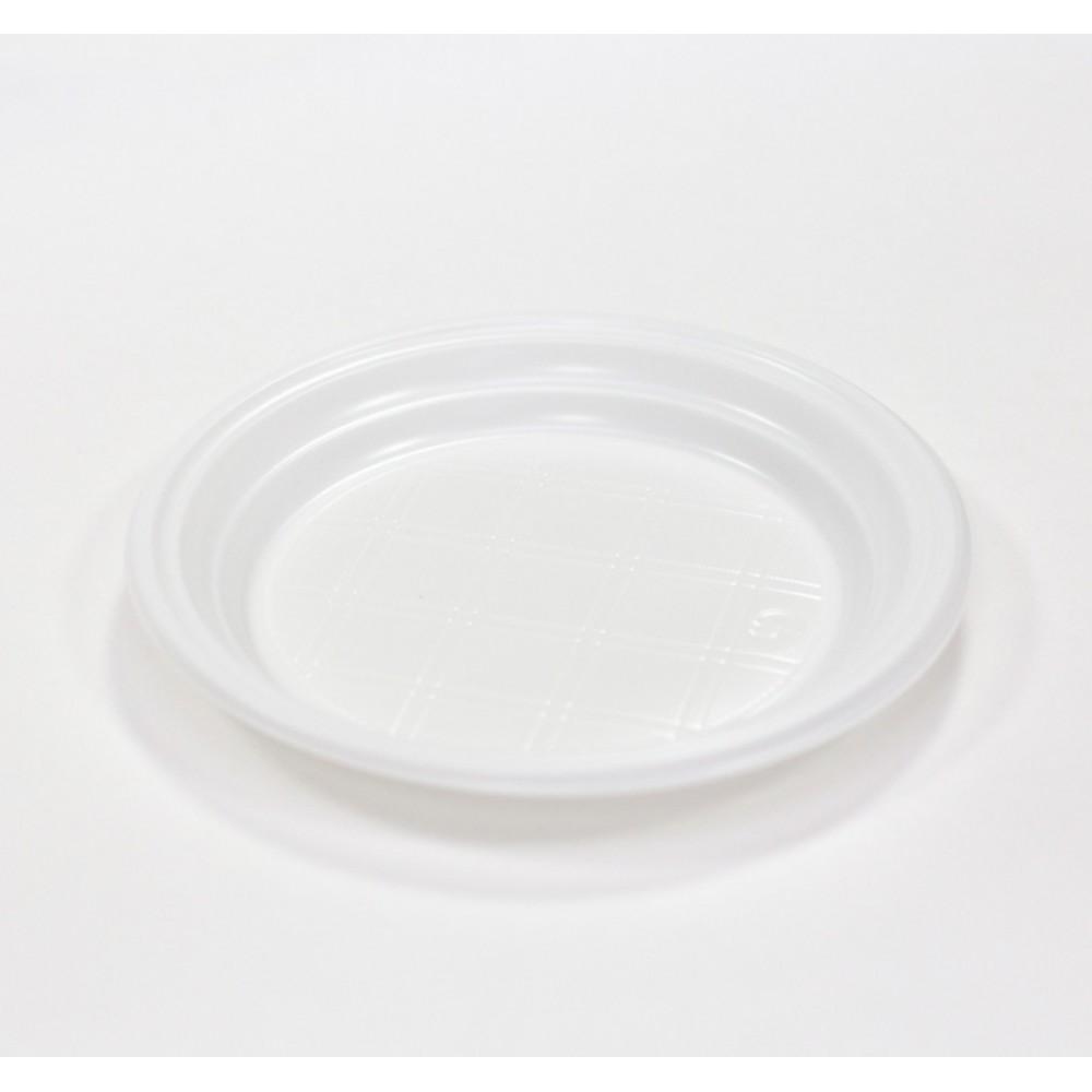 Тарелка десертная белая d-200мм (50 шт)