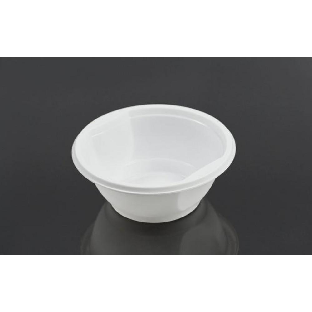 Тарелка 500 РР (50шт) (белая)