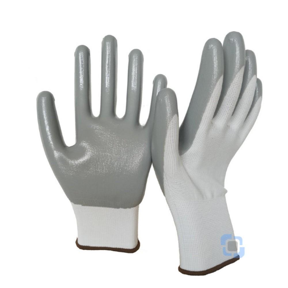 Перчатки нейлоновые с нит. покрытием