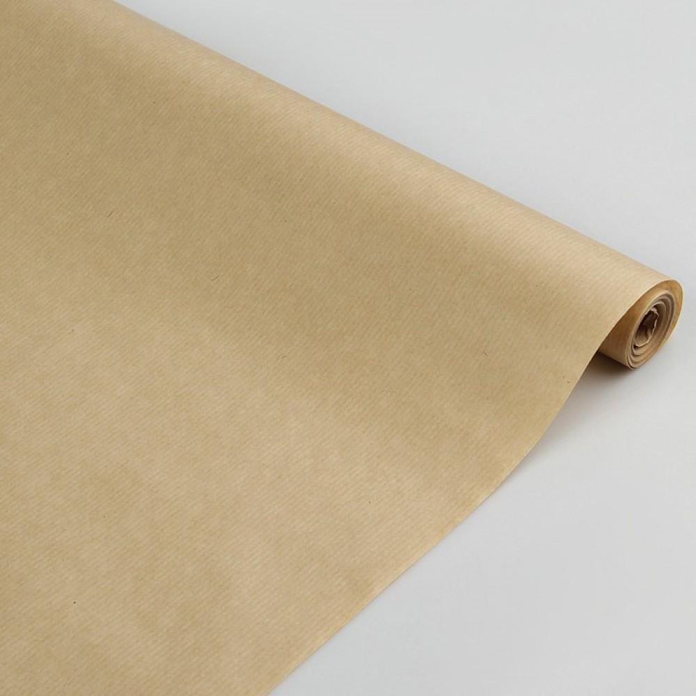 Бумага упаковочная крафт 0,72*10м