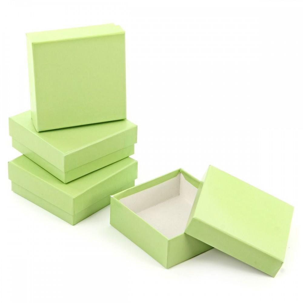 Коробка подарочная Зеленое яблоко