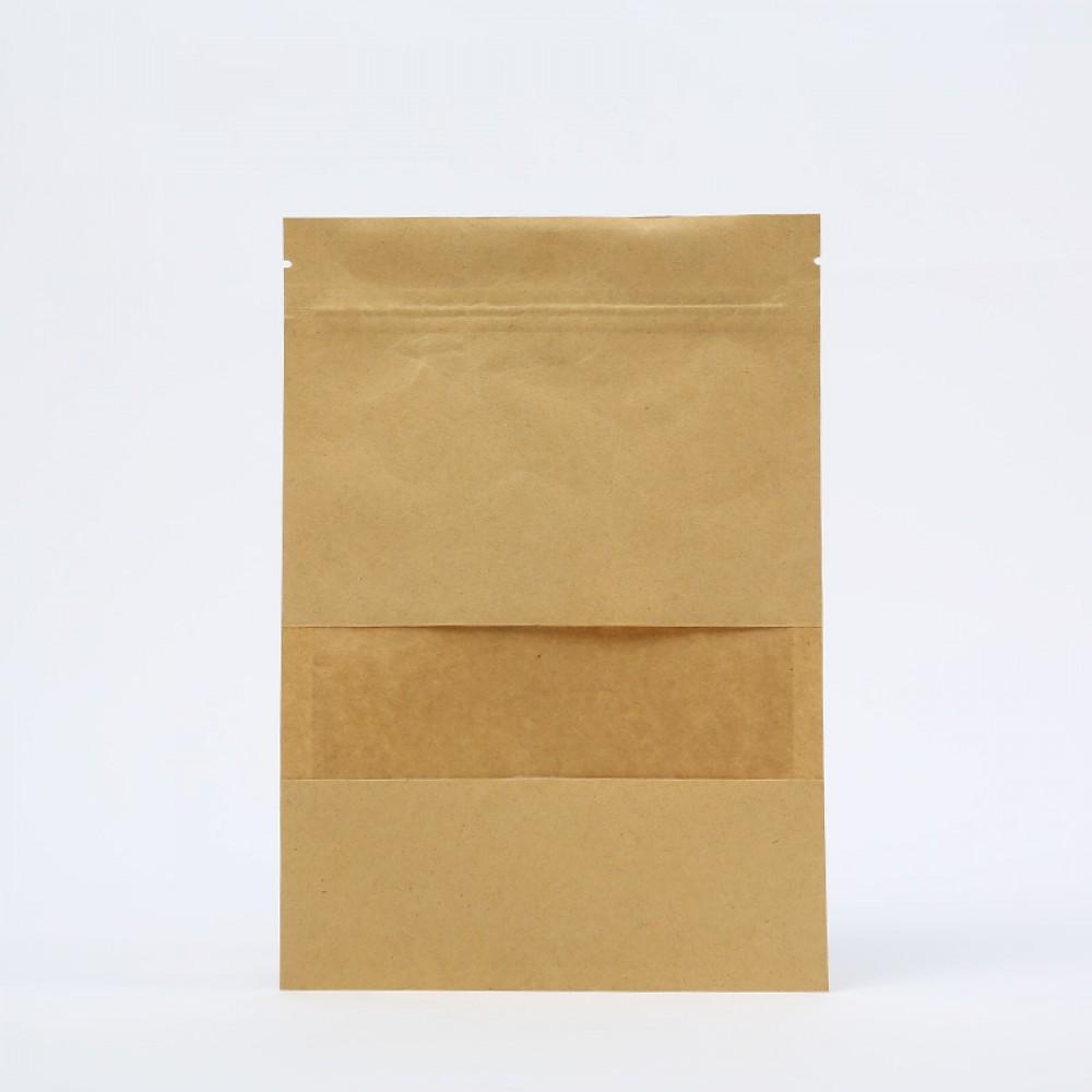 Пакет Zip Lock с прямоугольным окном 12*20 см