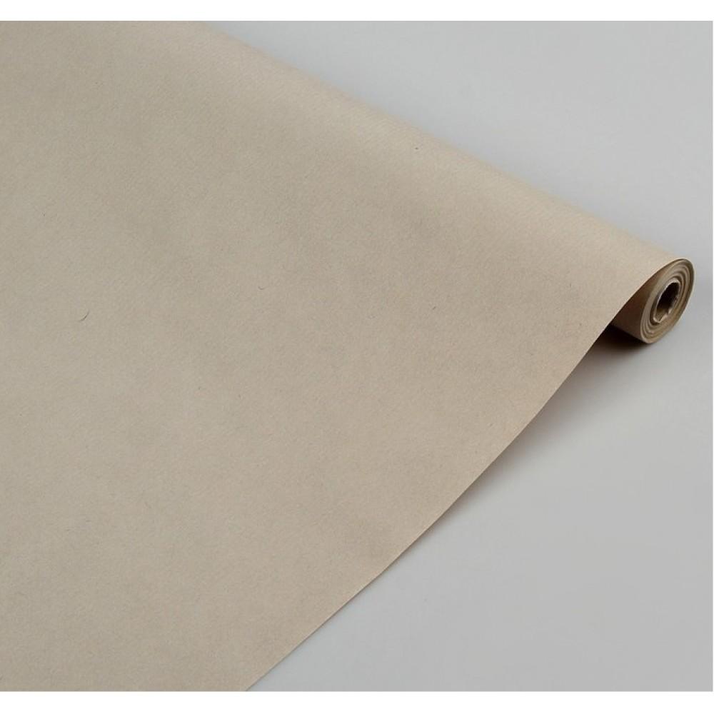 Бумага упаковочная крафт Пепельный 0,7*10м