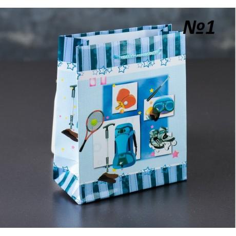 Пакет ламинированный 12*15*5см