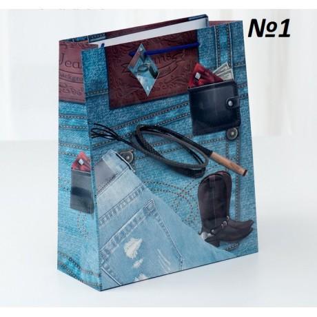 Пакет ламинированный 26*32*11см