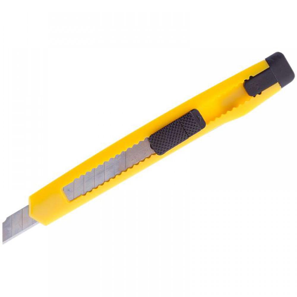 Нож канцелярский лезвие 9мм.