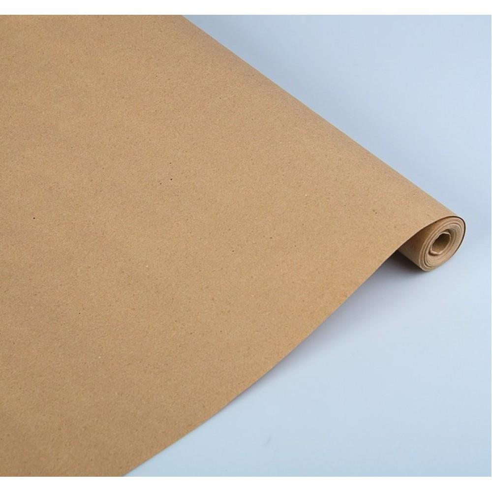 Бумага упаковочная крафт без печати 70г/м2 0,72*10м