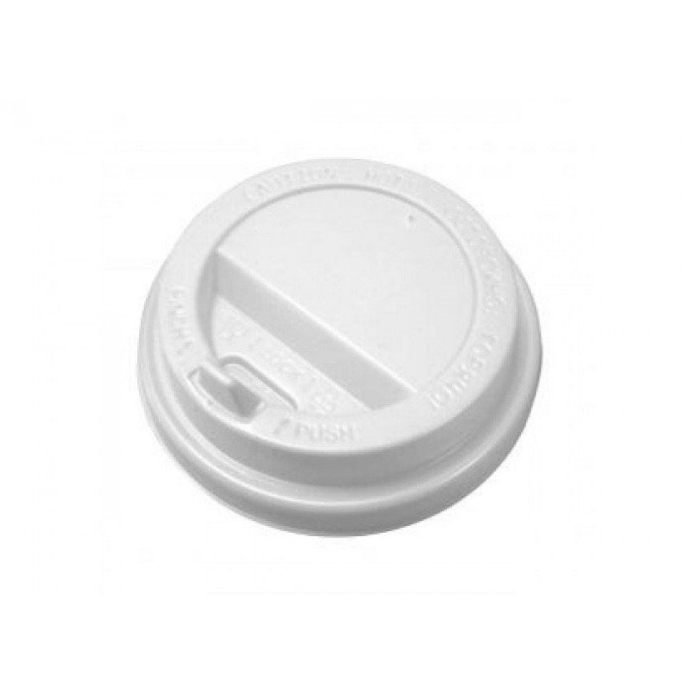 Крышка для гор.напитков с откидным питейником(80мм.) белые ( 50 шт)