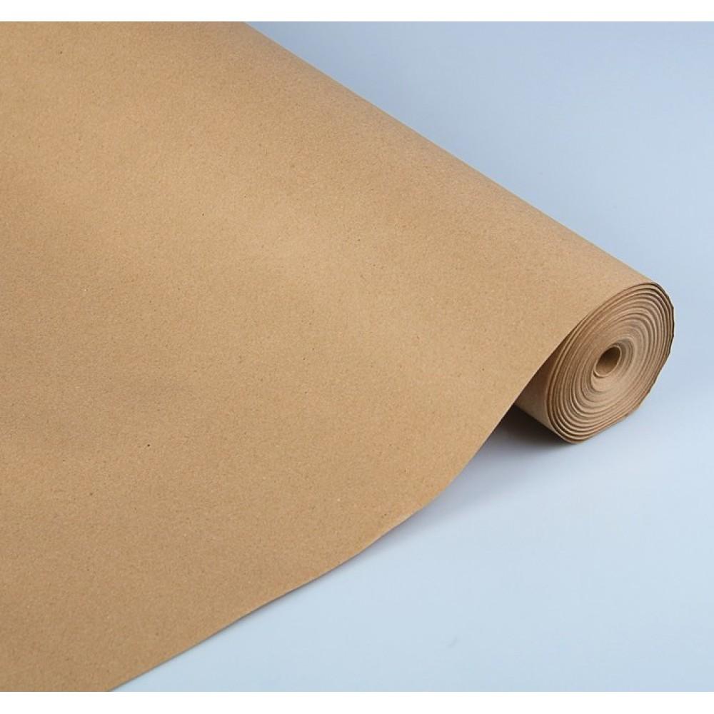 Бумага упаковочная крафт без печати 70г/м2 0,72*50м