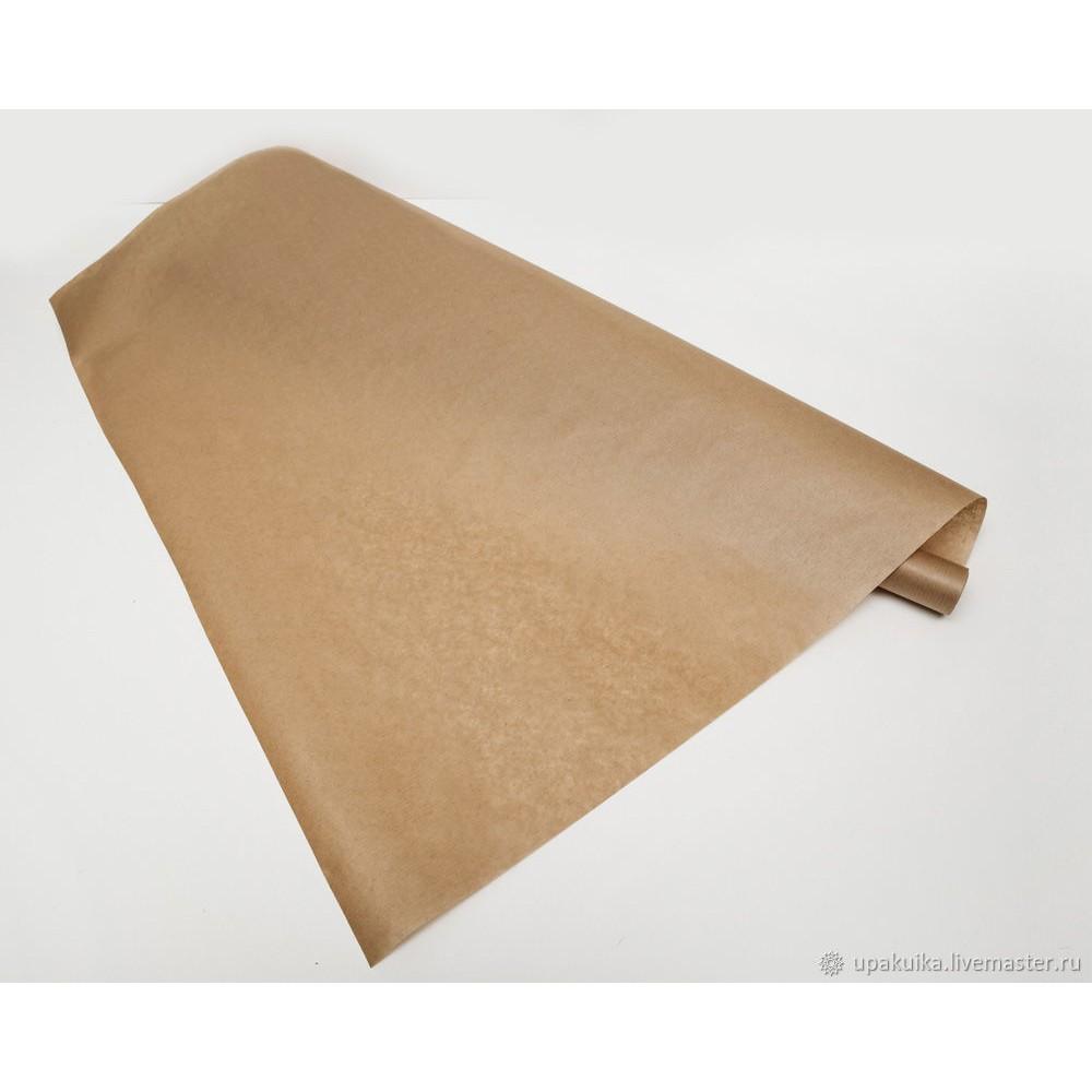 Бумага упаковочная крафт 0,72*20 м, 40 гр