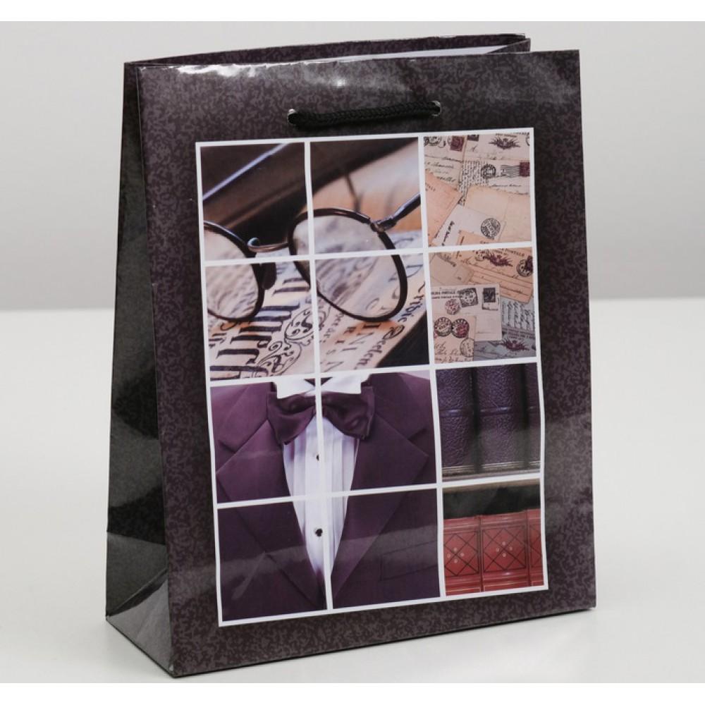 Пакет ламинированный Мужской набор 18*8,5*23см
