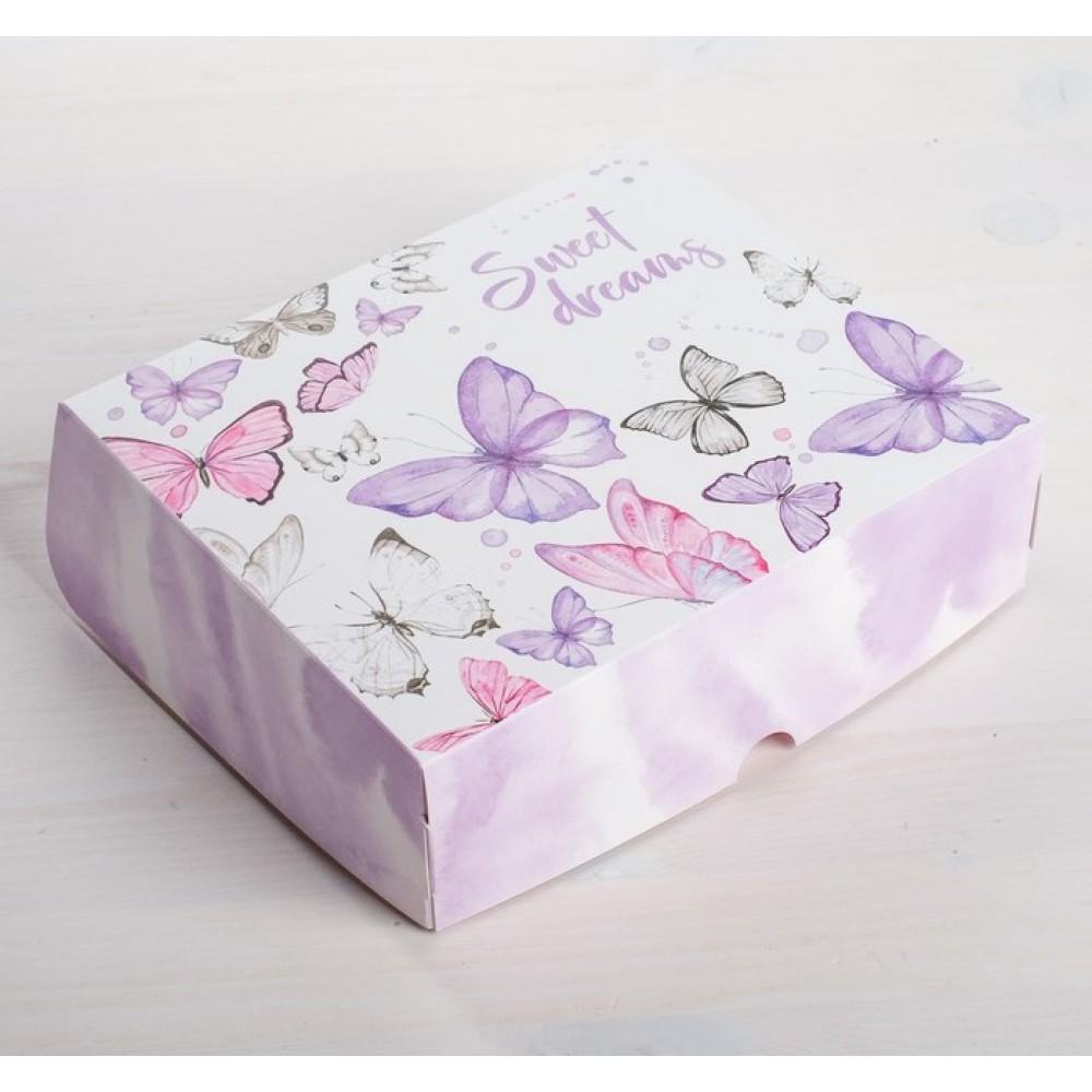 Коробочка для кондитерских изделий Sweet Dreams 17*20*6см