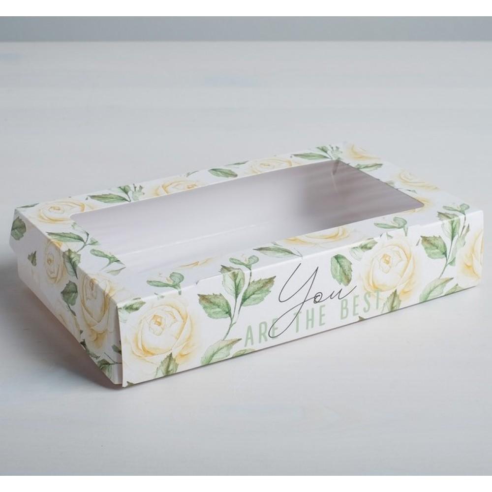 Коробка складная Flowers 20*12*4см