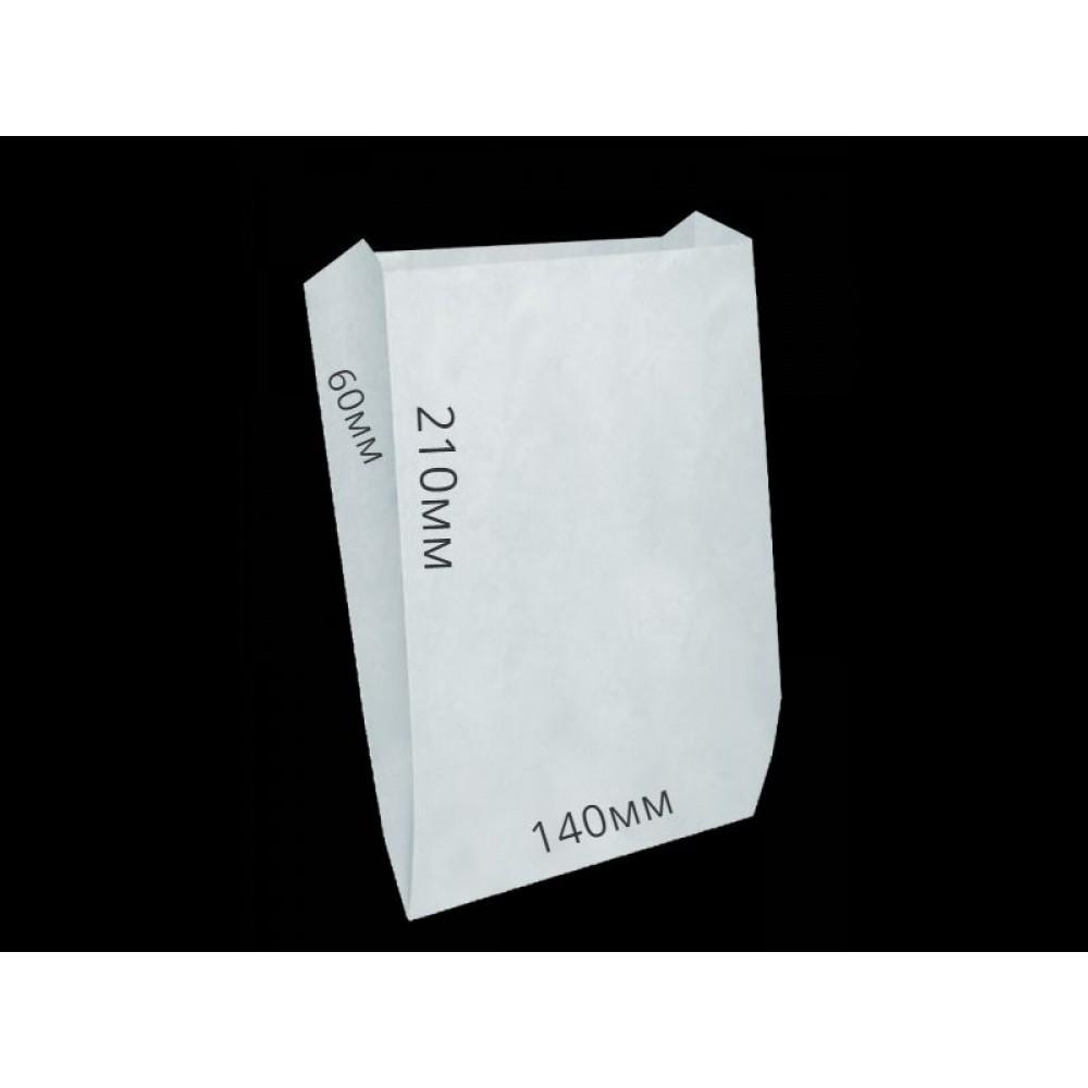 Мешок бумажный 210*140*60 белый (100шт)