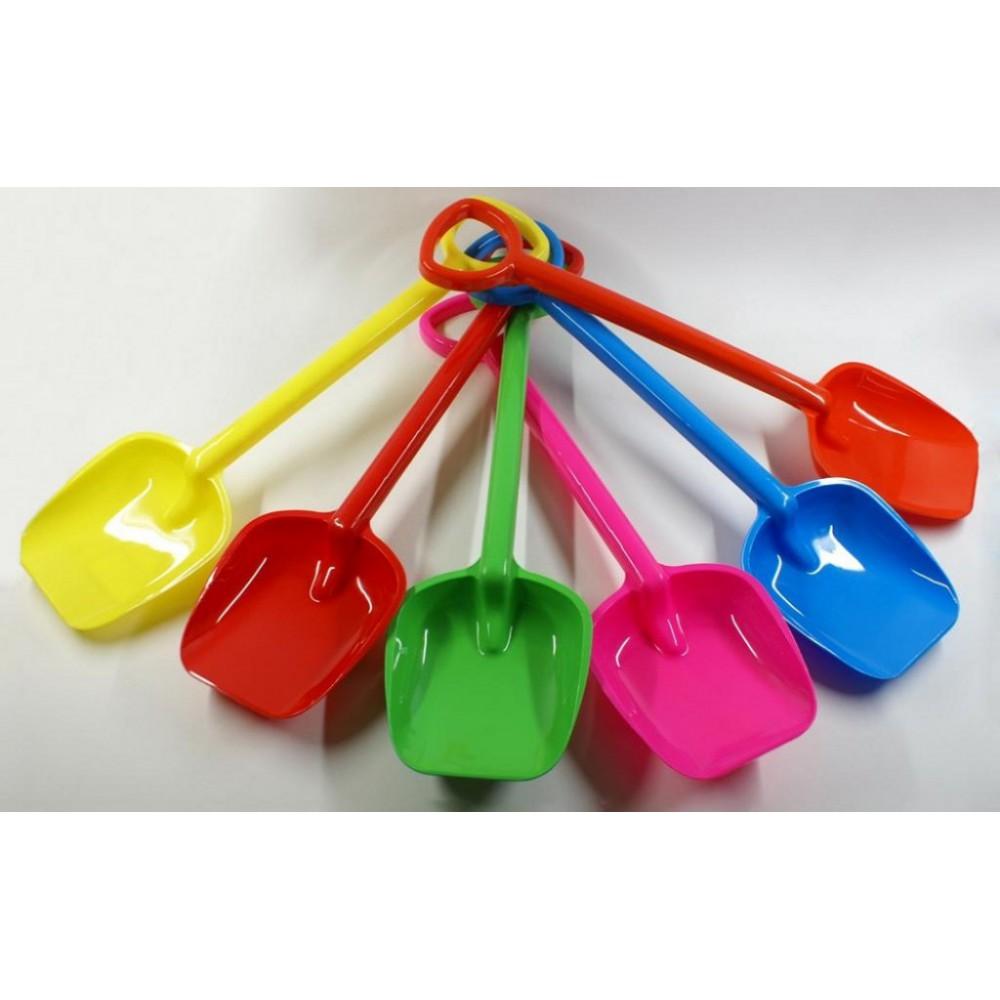 Лопатка пластмассовая (разноцветная)